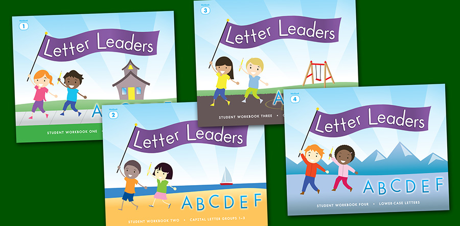 Letter Leaders Handwriting Book Covers